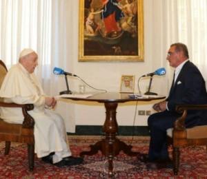 O Papa após a operação: