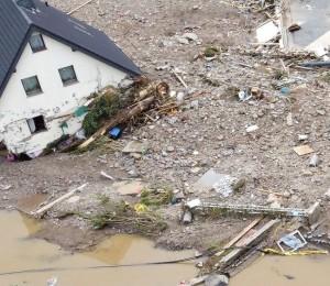 Enchentes na Alemanha: o pesar do Papa Francisco