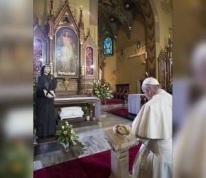 Papa: Santa Faustina convida a voltarmos à fonte da misericórdia