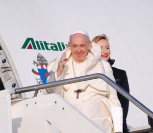Papa Francisco a caminho de Moçambique